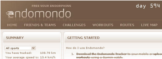 endomondo, running app and service